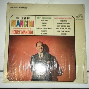 The Best of Mancini Record